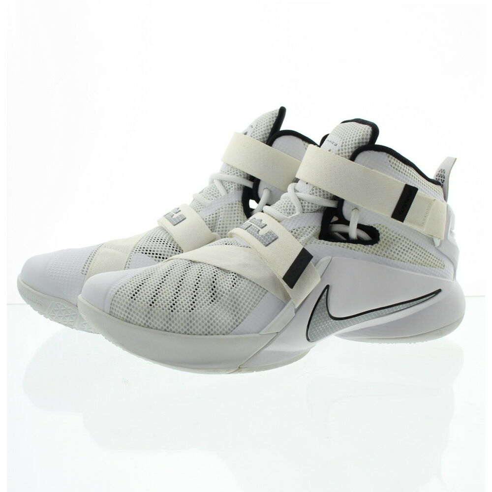 100% authentic 50a45 c15d2 Details about Nike 749498-100 Mens Lebron Zoom Soldier 9 TB Basketball  Shoes Sneakers