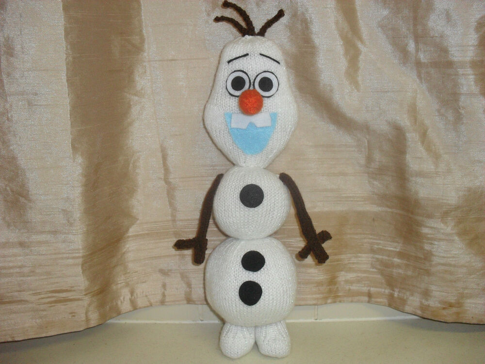 89004eafd OLAF Inspired TOY KNITTING PATTERN ONLY  SO CUTE EASY TO KNIT