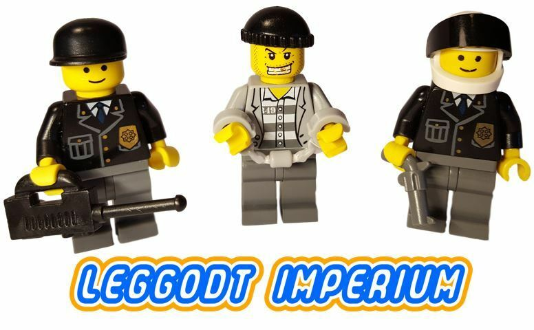 Lego Minifigures City Police Officer Pack A Emergency Service