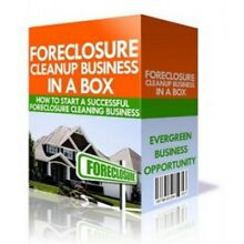 Foreclosure Cleaning Business For Those Wanting A Fast Setup, At Home Business