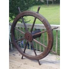 Large Ships Steering Wheel 48
