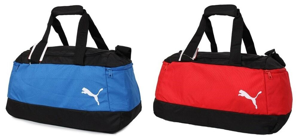 e81988a59 Details about Puma Pro Training Small Duffel Bags Soccer Running Red Blue  Bag Sacks 07489602