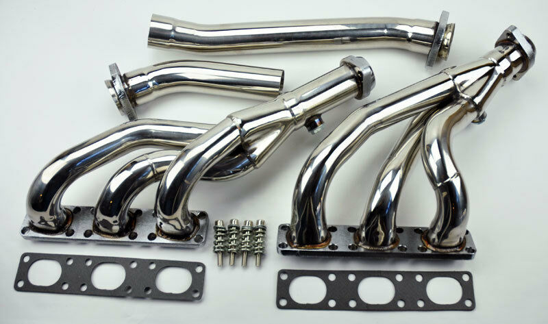 4pc Performance Exhaust Manifold Headers Fits Bmw E46 E39