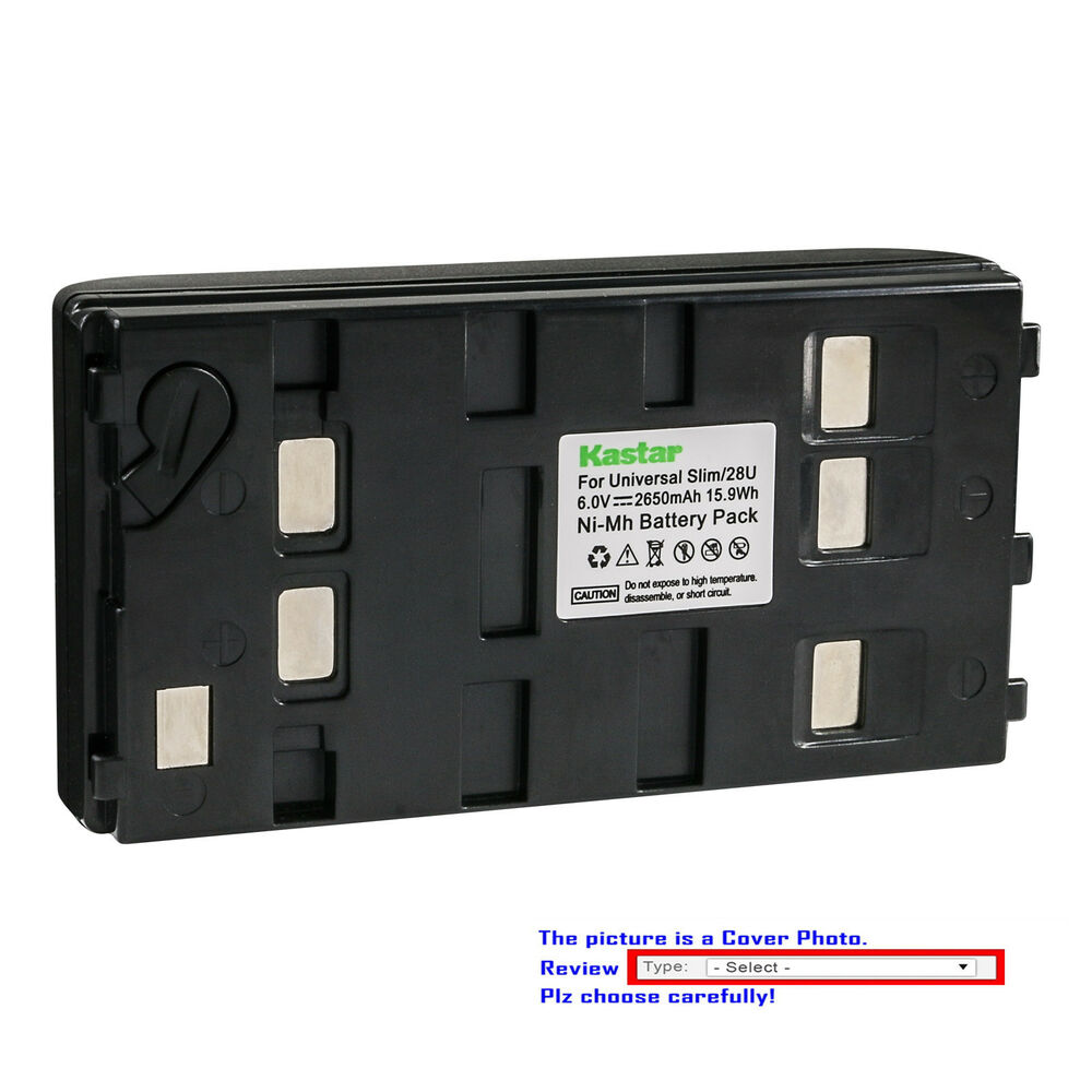 Kastar Replacement Battery for Sony CCD-TRV40 CCD-TRV44 CCD-TRV44E  CCD-TRV512   eBay