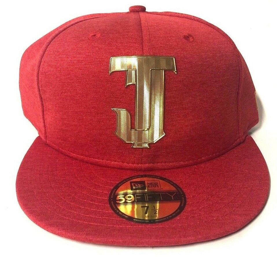 Details about New Era Toros De Tijuana Mexican Baseball League Red Gold  59FIFTY Fitted Hat Cap 69b82e8ef2d