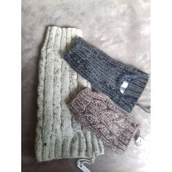Hand knitted doggy jumpers. Puppy-medium dog. Thick Aran wool. Custom made