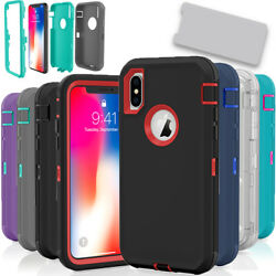 Kyпить For Apple iPhone X / XS / XR Max 10S Case Protective Defender Shockproof Cover на еВаy.соm