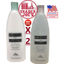 🔥Trader Joe's Nourish Spa Shampoo & Conditioner Balanced Moisturizing 16.9FL oz