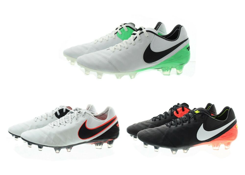 84098bdb195 Details about Nike 819177 Mens Nike Tiempo Legend VI 6 Firm Ground Soccer  Cleats Shoes
