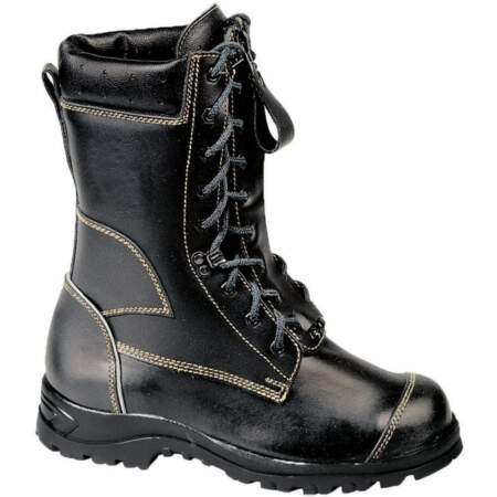 img-Herkules Fire Fighting Boots with Cut Utility Boots Lace-Up Boots HI3 Src