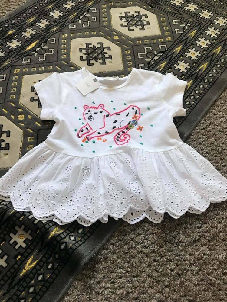 Kids' Clothes, Shoes & Accs. Girls White Shift Dress Age 3-4