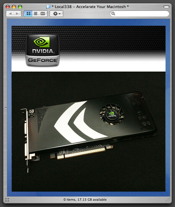 Nvidia Geforce 8800 Gt 512mb For Mac