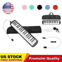 37 Piano Keys Melodica with Mouthpiece & Hose & Bag Black Pink Blue Red Green