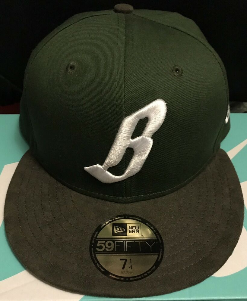 b5f54d80972aa Details about Billionaire Boys Club Flying B New Era Fitted Cap Hat -  Green Brown - Size 7 1 4