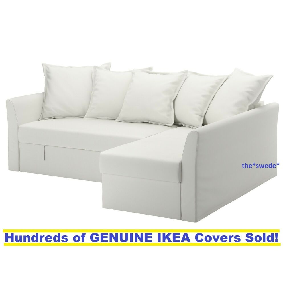 Ikea Holmsund Corner Sofa Bed Sectional Cover Slipcover