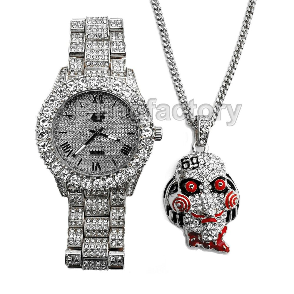 69 Chain Jigsaw: Iced Out 6ix9ine Saw Inspired Necklace & Hip Hop Gold