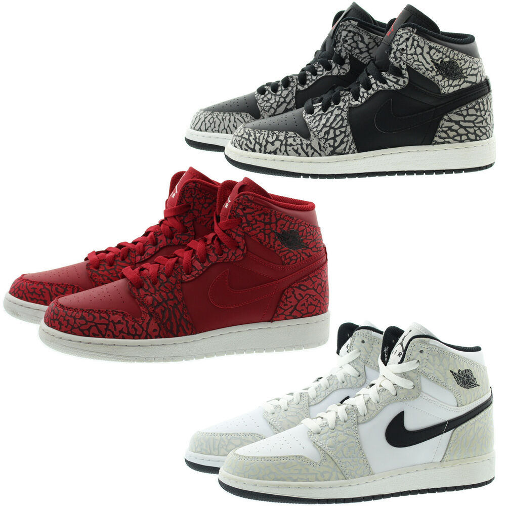 d439eef397099 Details about Nike 838850 Kids Youth Boys Girls Air 1 Retro High Top Basketball  Shoes Sneakers