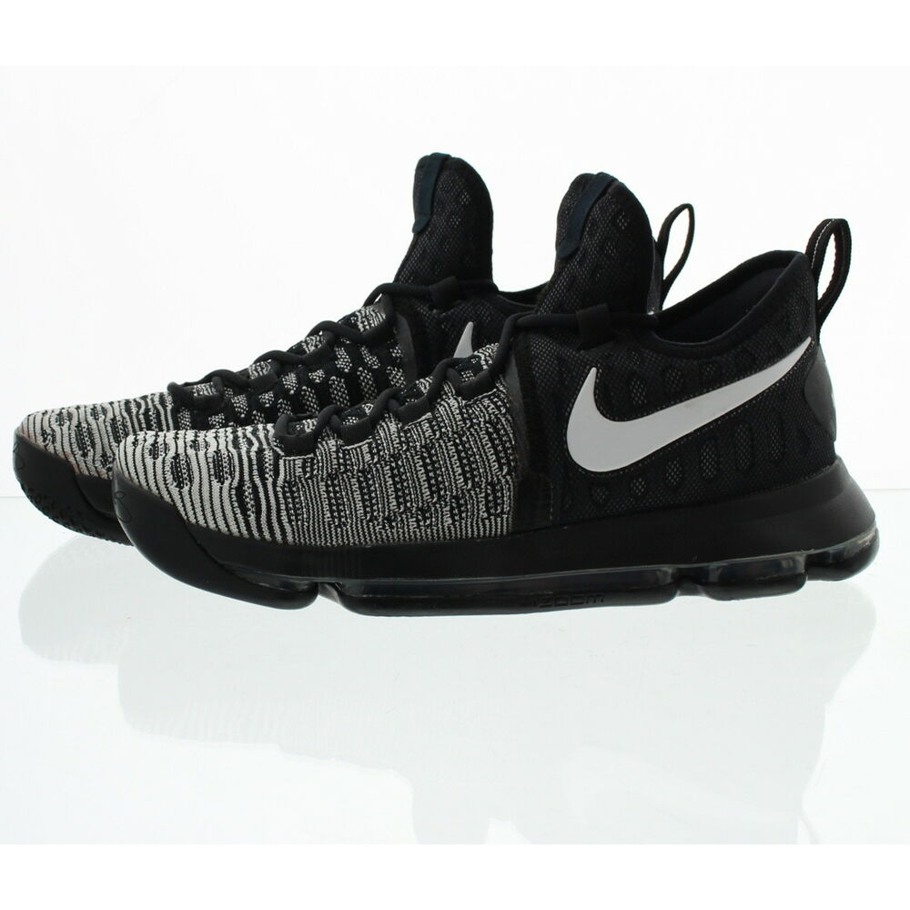 the best attitude cc1f3 51367 Details about Nike 843395 Mens Zoom Kevin Durant 9 Mid Top Basketball Shoes  Sneakers