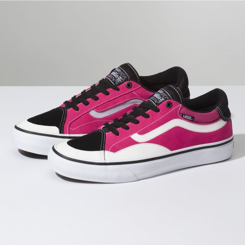 4c9ef52e5c8ca5 Details about Vans TNT Advanced Prototype Tony Trujillo Black  Magenta    White VN0A3TJXLJN  75