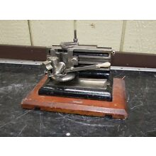 Antique Bausch and Lomb Microtome Scientific Laboratory Equipment ms