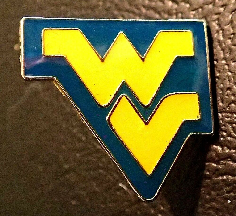 finest selection 1542e 1cac5 Details about BEAUTIFUL limited edition WEST VIRGINIA MOUNTAINEERS FOOTBALL  lapel pin BADGE