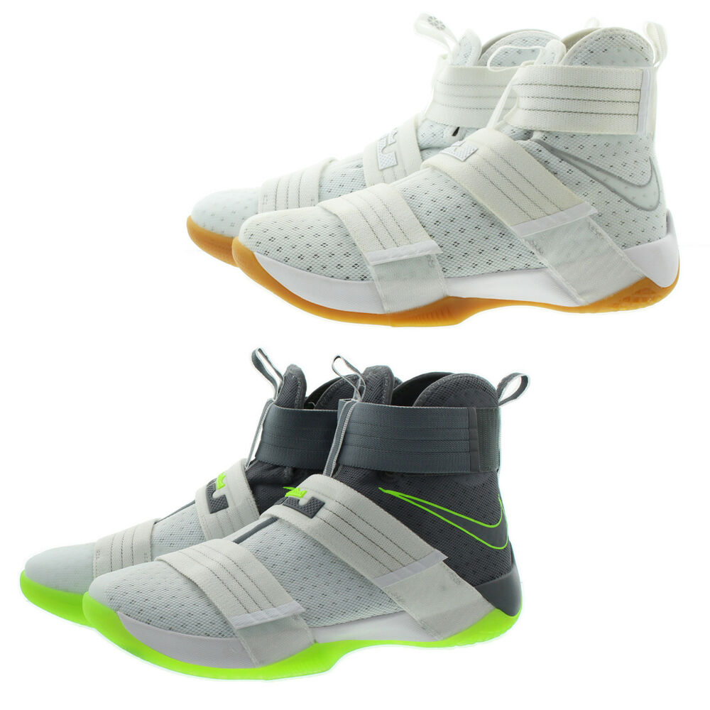 ac4c0ceb44f Details about Nike 844378 Mens Lebron Soldier 10 SFG Performance Basketball  Shoes Sneakers