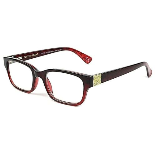 womans-150-strength-foster-grant-red-golden-nugget-reading-glasses-msrp22