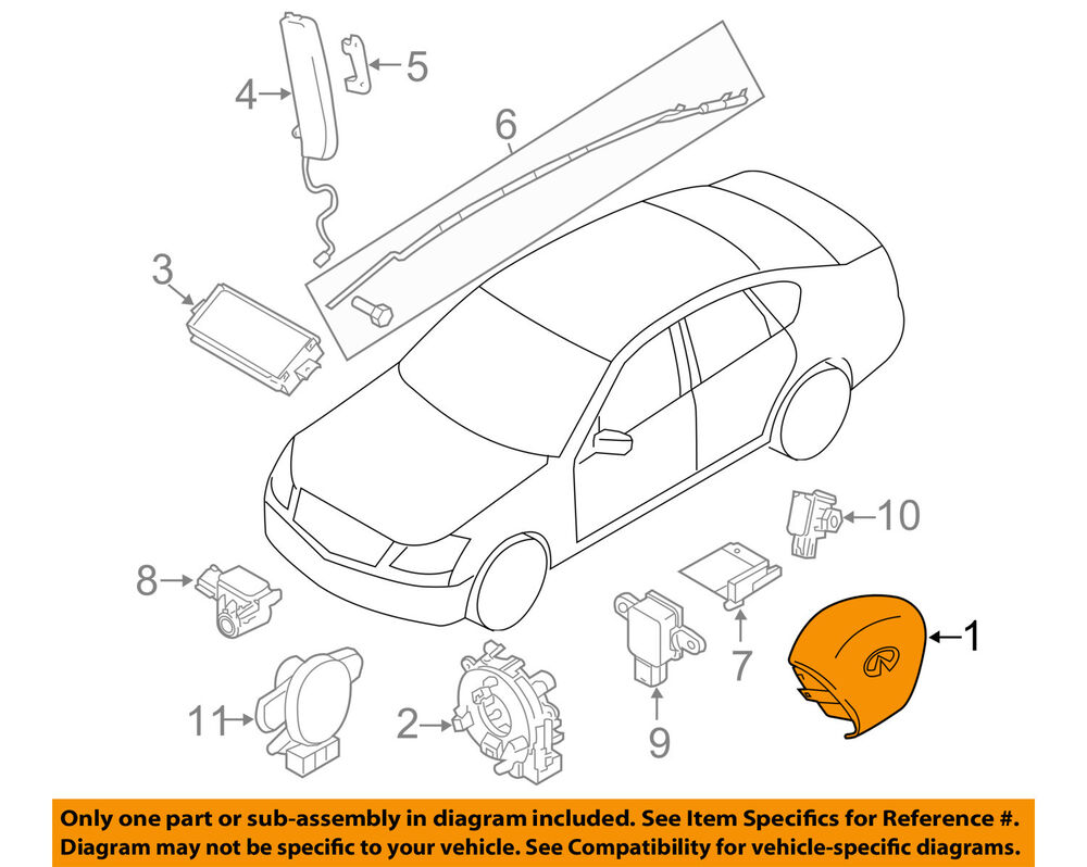 car air bag schematics nissan wiring block diagram Nissan Car Specifications infiniti nissan oem q70 airbag air bag driver steering wheel air pressure switch diagram car air bag schematics nissan