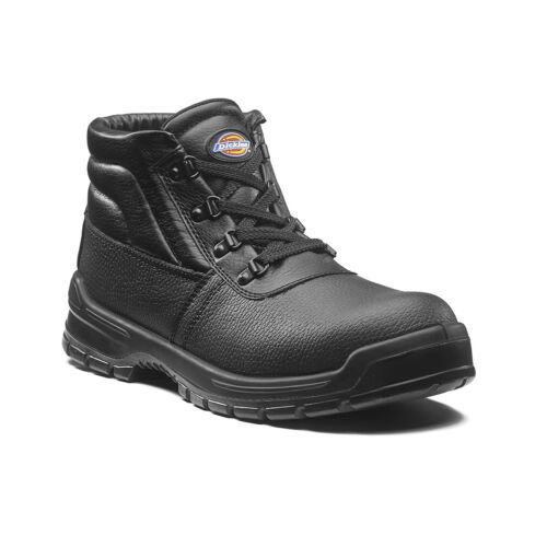 Dickies Redland II Safety Work Boots Black (Sizes 3-14) Men's Shoes