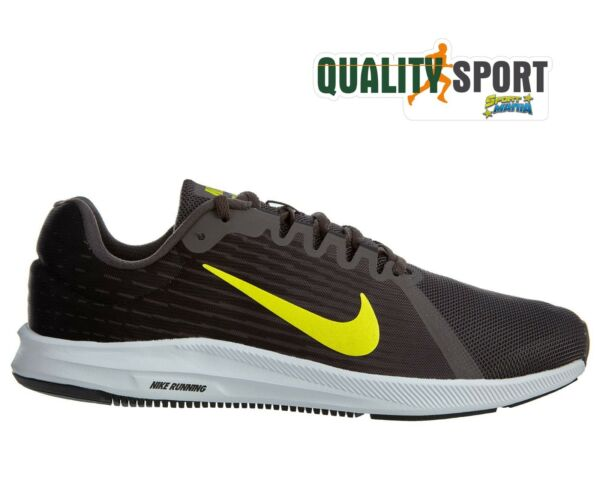 best authentic 5da34 7e95c Nike Downshifter 8 Grigio Scarpe Shoes Uomo Sportive Running 908984 010