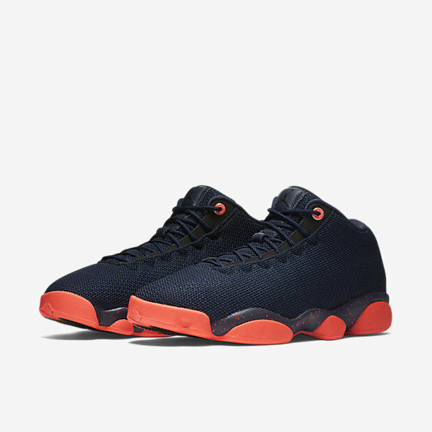 a3ce9d3a7 Details about Nike Air Jordan Horizon Low Shoes Obsidian Infrared 845098-406  Men s Size 11.5