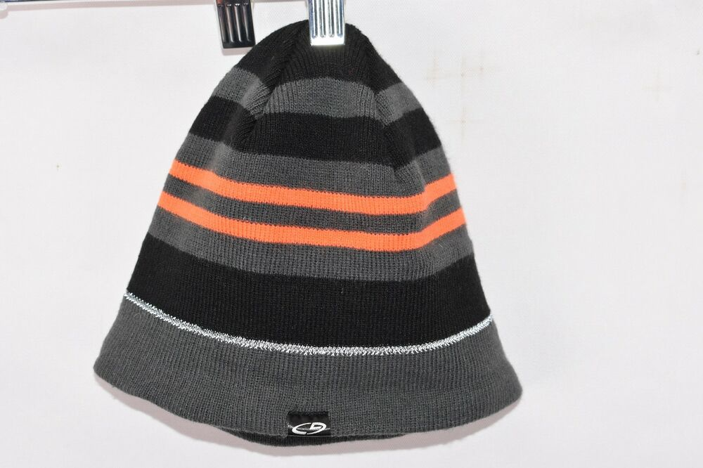 f4ed5525a4ab8 Details about Boys Champion GS Striped Beanie