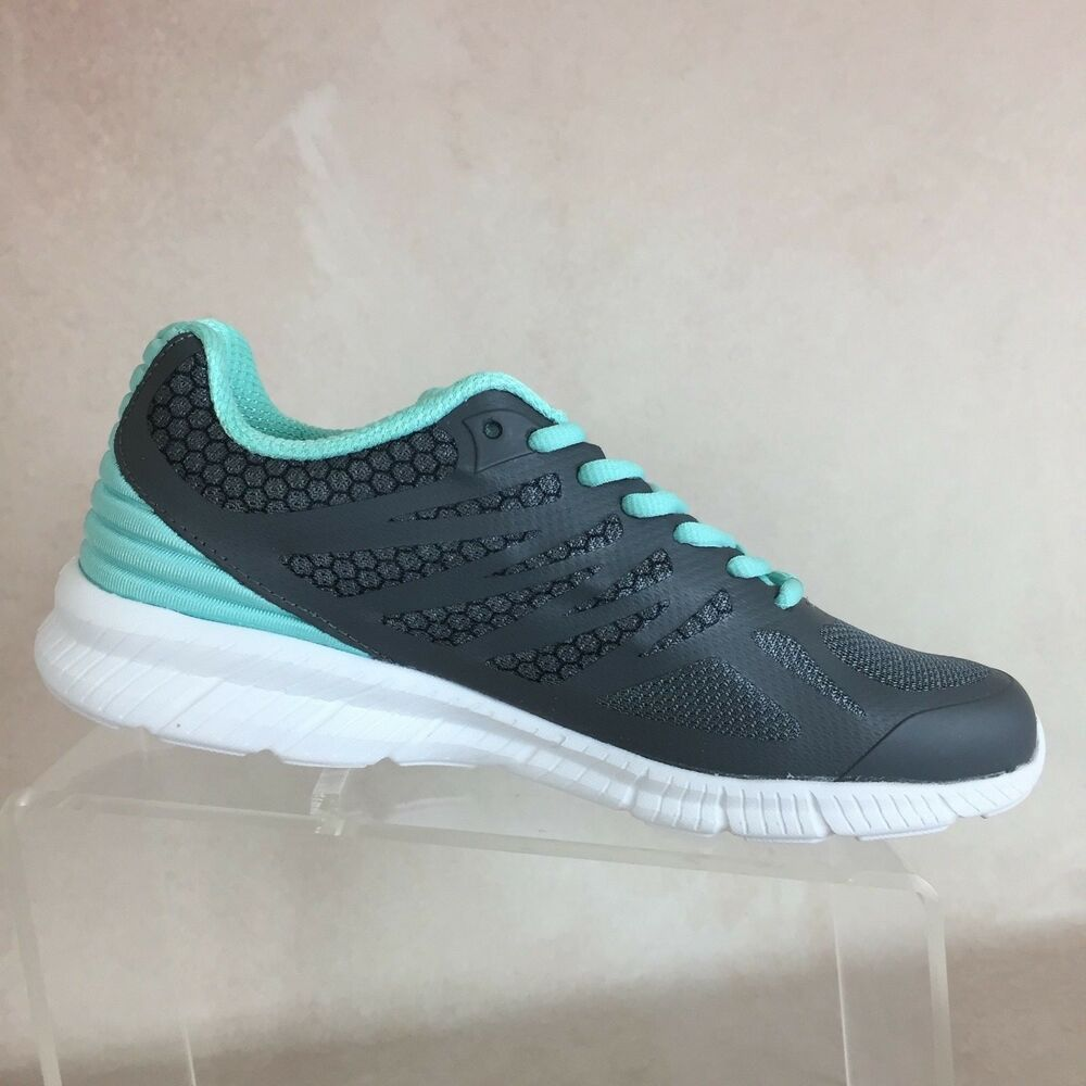 56d4ab4ad1fb Details about FILA B102 MEMORY SPEEDSTRIDE Trail Running Shoes Sneakers  Teal Green Women s 8.5