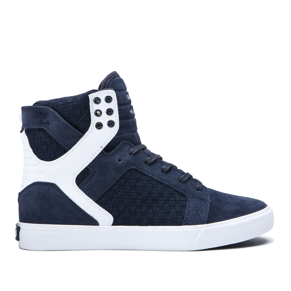 885adbdbd3 Details about NEW SUPRA SKYTOP NAVY NAVY WHITE 06049-433 SKATEBOARDING SHOES  14