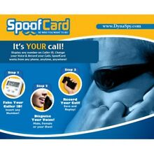 Spoof Card - Fake The Caller ID! - Change Your Voice, Record The Call :)