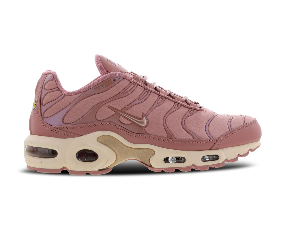 611c9b6fb2 Details about Womens NIKE AIR MAX PLUS Rust Pink Trainers AT5695 600