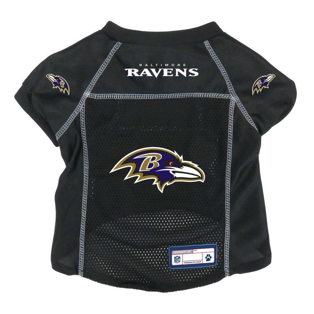 b35345173 Details about Baltimore Ravens Extra Large Pet Jersey  NEW  NFL Dog Puppy  Shirt Clothes XL