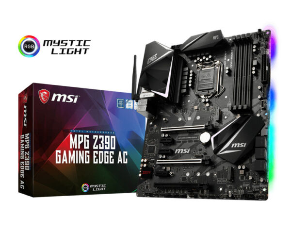 Scheda Madre Motherboard ATX Intel Z390 Socket H4 MPG Z390 Gaming Edge Ac MSI
