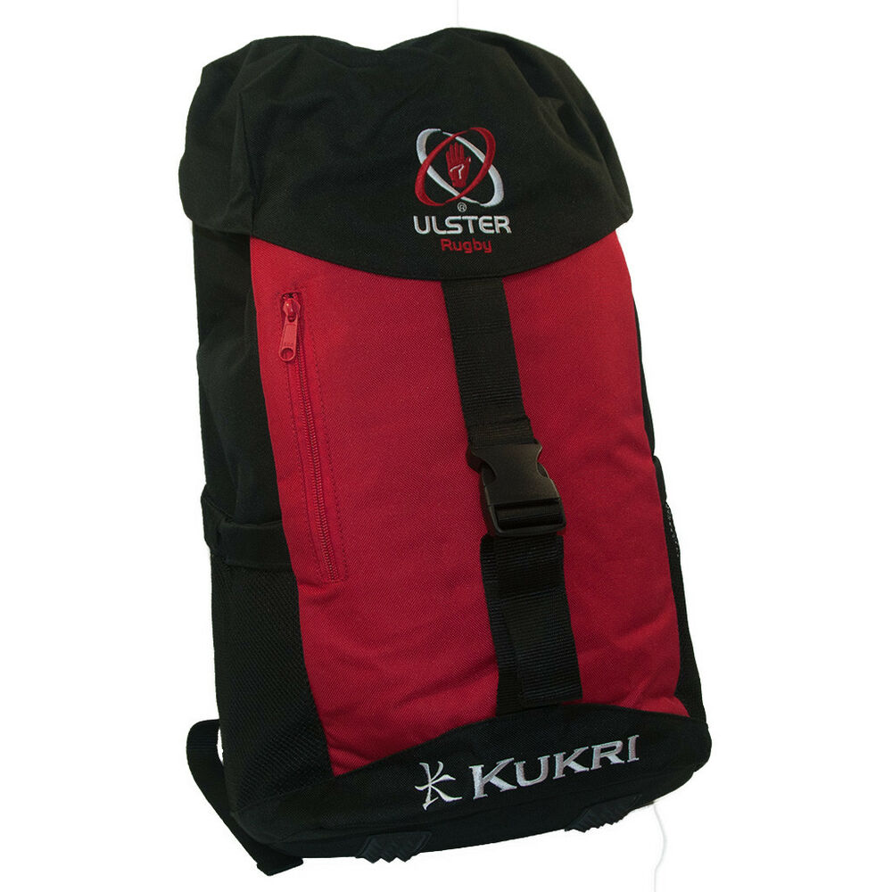 Kukri Ulster Rugby Training Backpack Bag (2018-2019) 5057664555723 ... dcc2f401bd74d