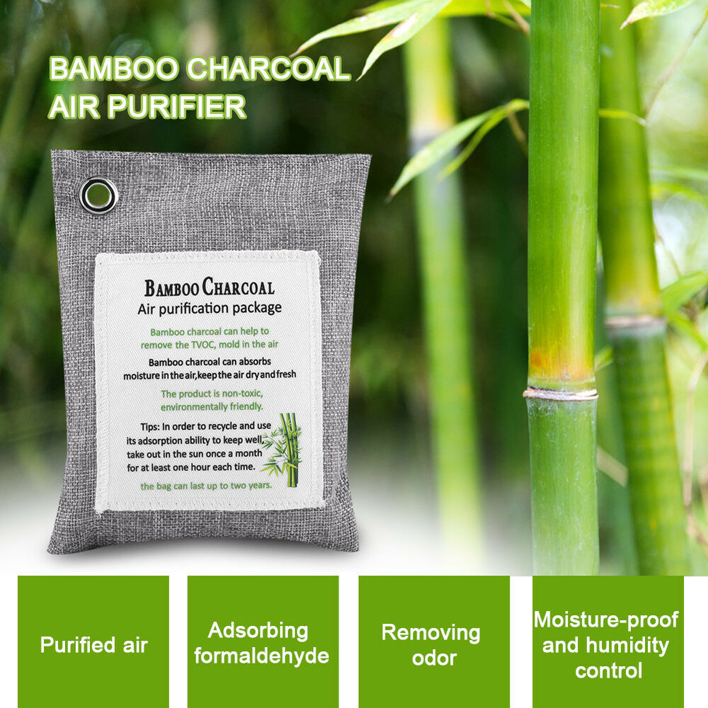 charcoal bamboo fresh nature air purifier mold bag purifying odor