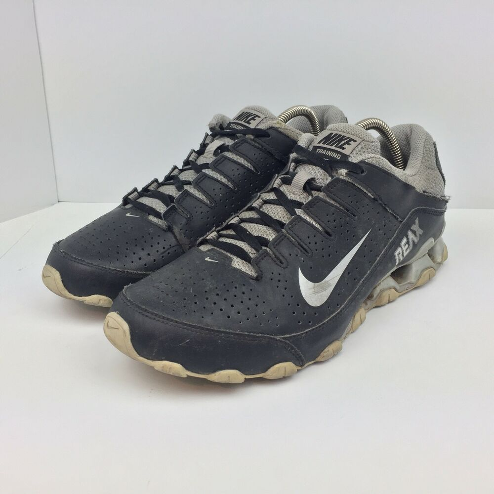 0b43c4f4957881 Details about Nike Reax 8 TR Black Running Shoes Athletic Sneakers  616272-001 Men s Size 10.5