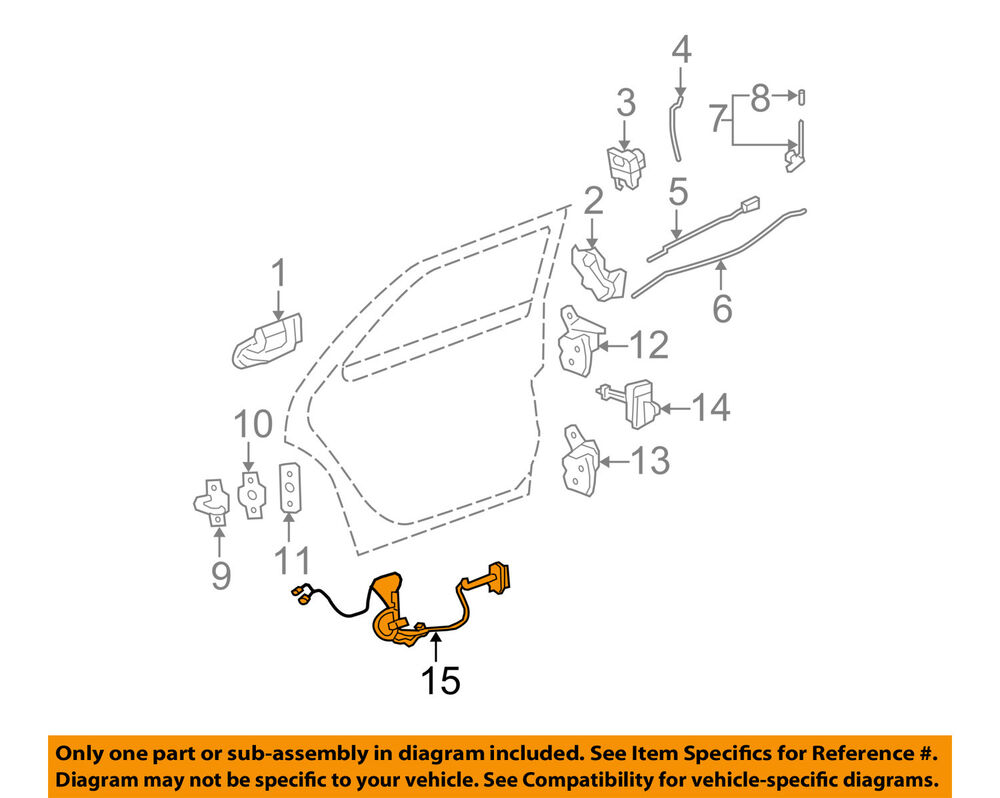 Cadillac gm oem 06 07 dts interior rear door wire harness left chevy wiring diagram cadillac gm oem 06 07 dts interior rear door wire harness left 15951752 ebay