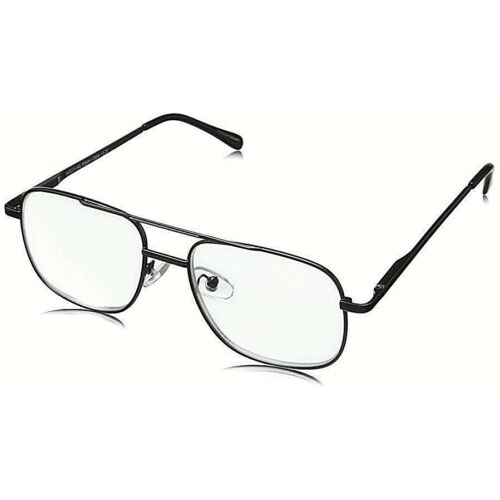 275-strength-hard-to-find-foster-grant-aviator-clear-bifocal-reading-glasses