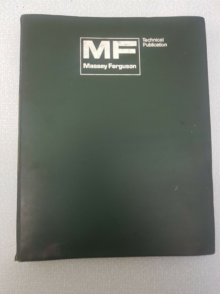 Massey 168 Workshop Manual Reprint 1856000m1 Business, Office & Industrial Tractor Manuals & Publications