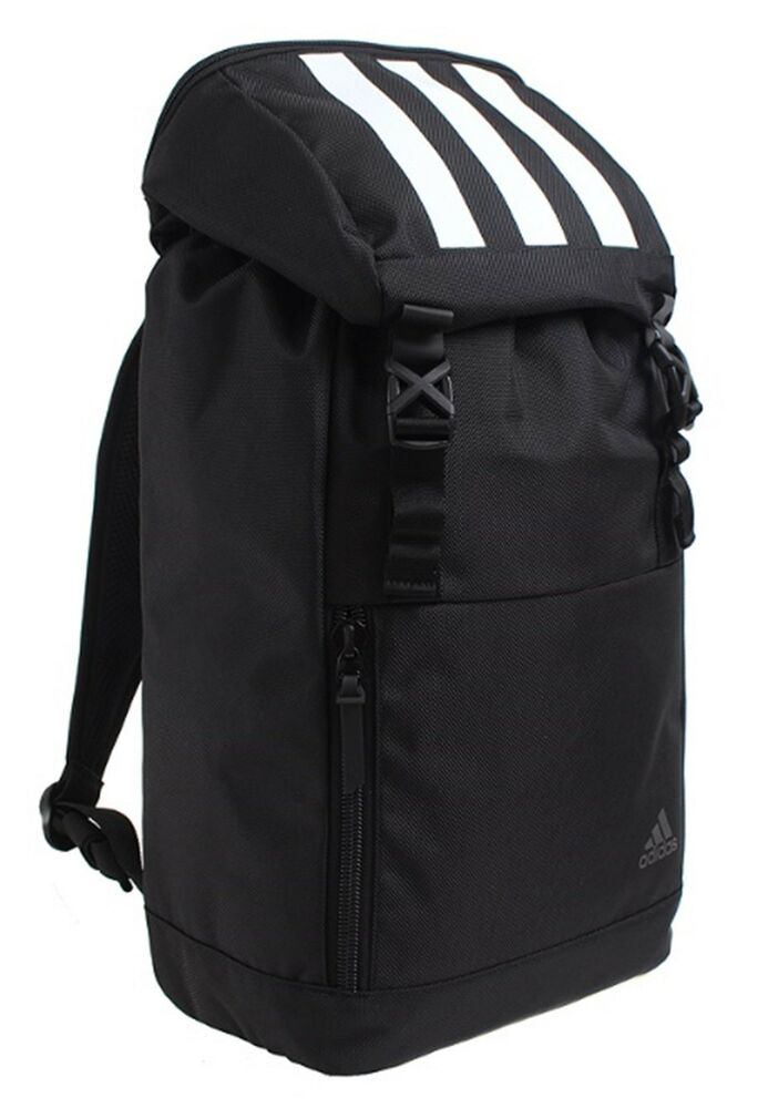 dd7c0711c4ce Details about Adidas KOR Trendy Backpack Bags Sports Black Running Training  Casual Bag CV4963