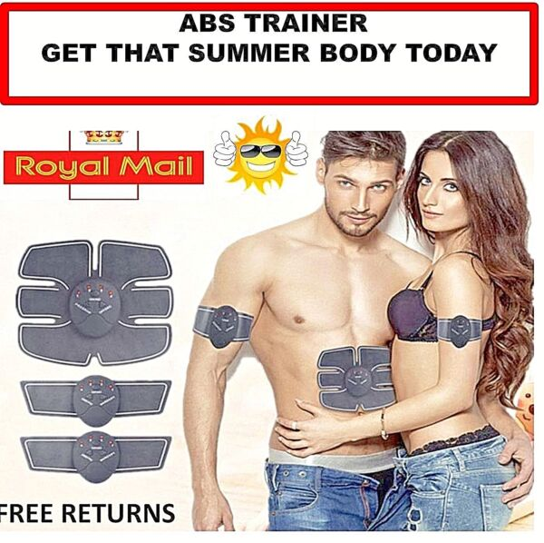 Smart Abs Stimulator Training Tool Fitness Gear Muscle EMS ✅UK SUPPLIER QUALITY