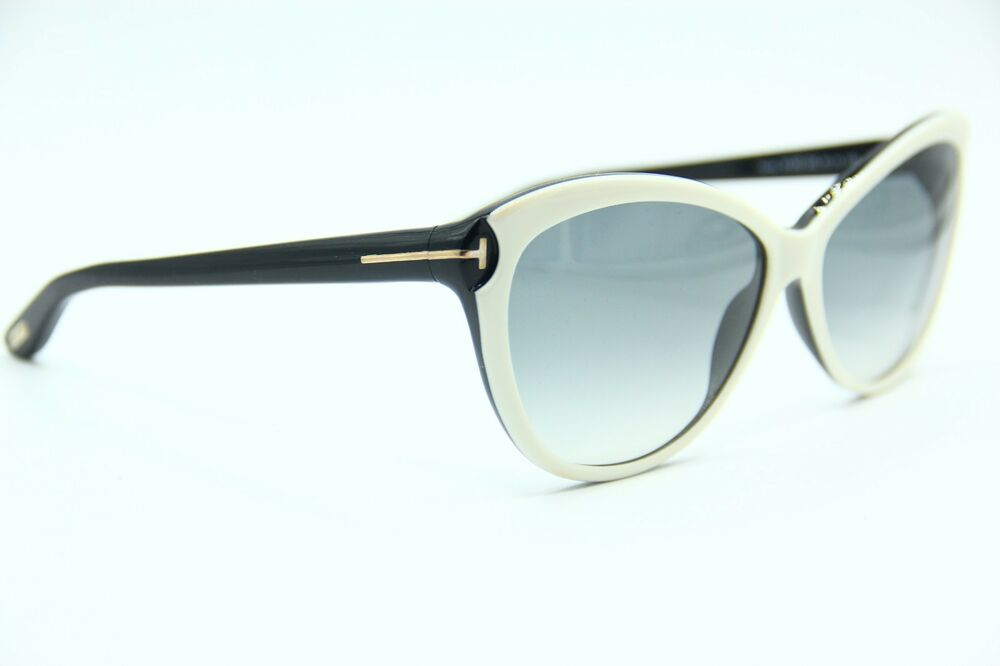 295803a11057 Details about NEW TOM FORD TF325 25B TELMA WHITE AUTHENTIC FRAME SUNGLASSES  60-14 W CASE