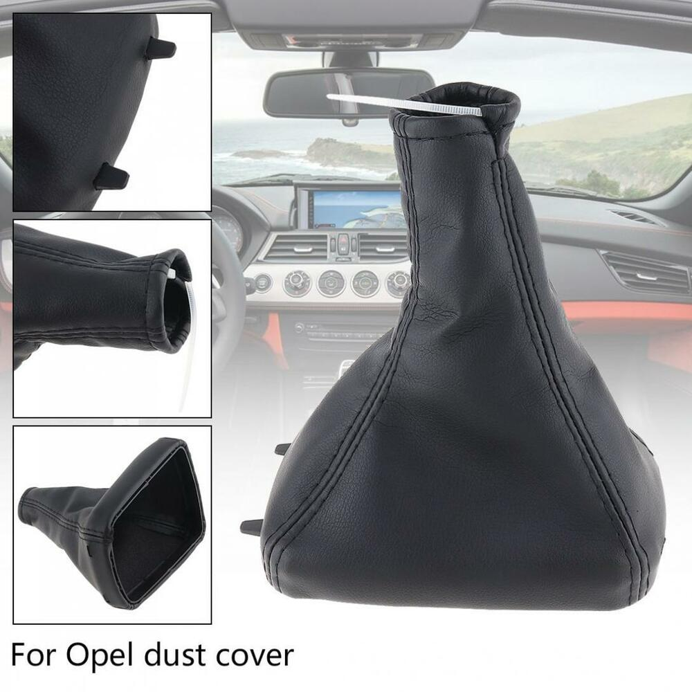 567455b376148b Details about Fits Vauxhall /Opel ASTRA MK4 Coupe PU Leather Gear Knob Boot  Gaiter Dust Cover