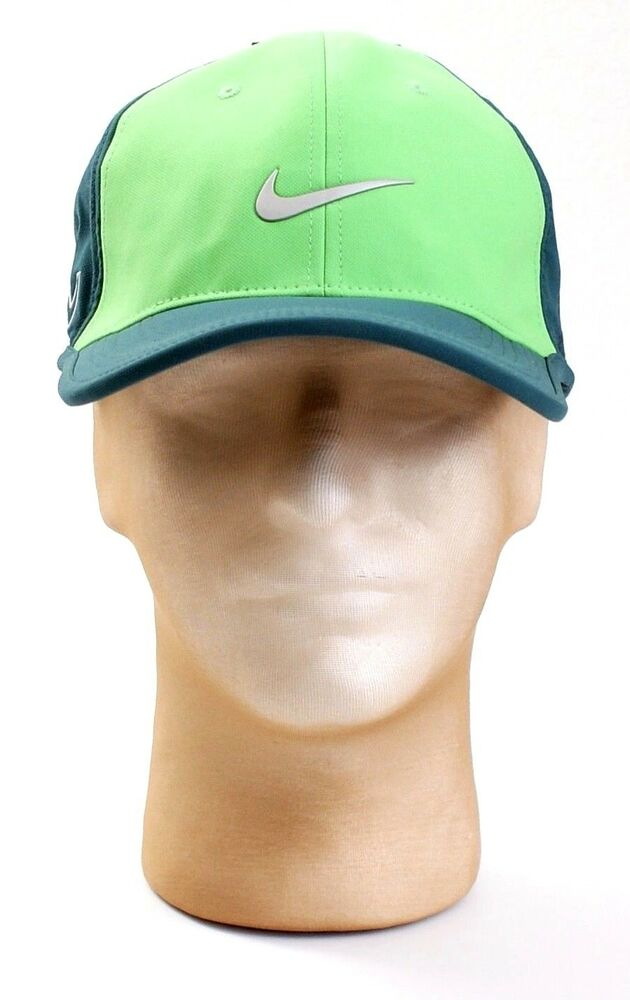 Details about Nike Golf Dri Fit Green Ultralight Tour Cap Adjustable RZN  Golf Cap Hat Men s fe235c67822