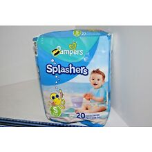 Pampers Splashers Disposable Swim Pants - Size S 13-24lb (20ct)